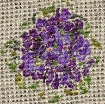 Deux sous de violettes -