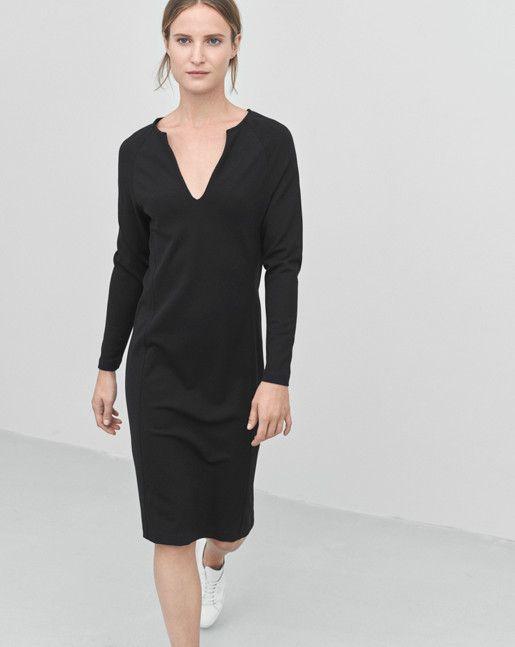 Womens Jersey Split Dress Filippa K Top Quality Online Clearance Recommend Ca26UIRJ