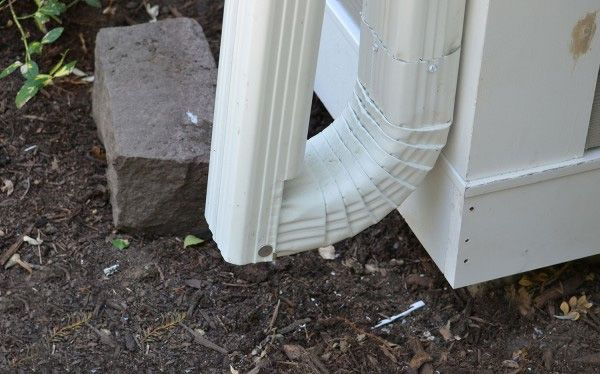 Fold Down Downspout The Homefix Radio Show Downspout How To Install Gutters Gutter