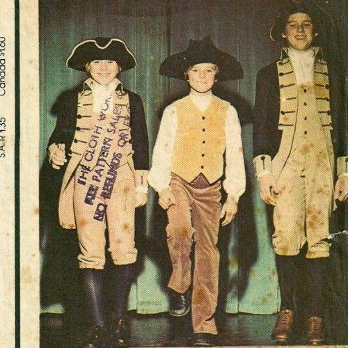 70s McCalls 4425 Boys Centennial Costume Pattern   PatternGate ...