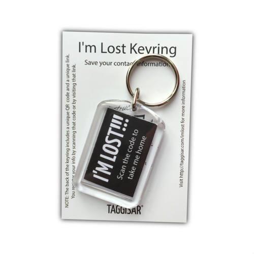 I'm Lost Keyring