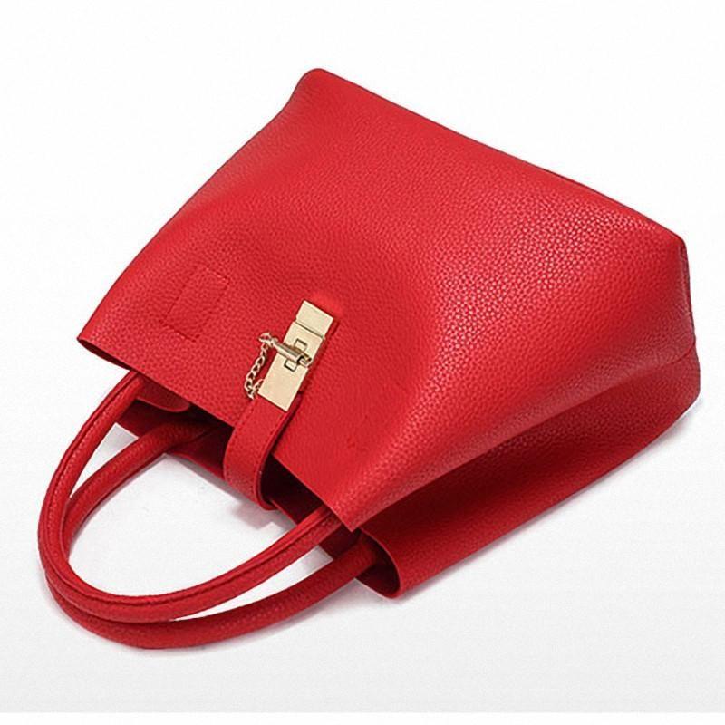 GD Sac /à bandouli/ère Diagonal Portable Rouge pour Femme