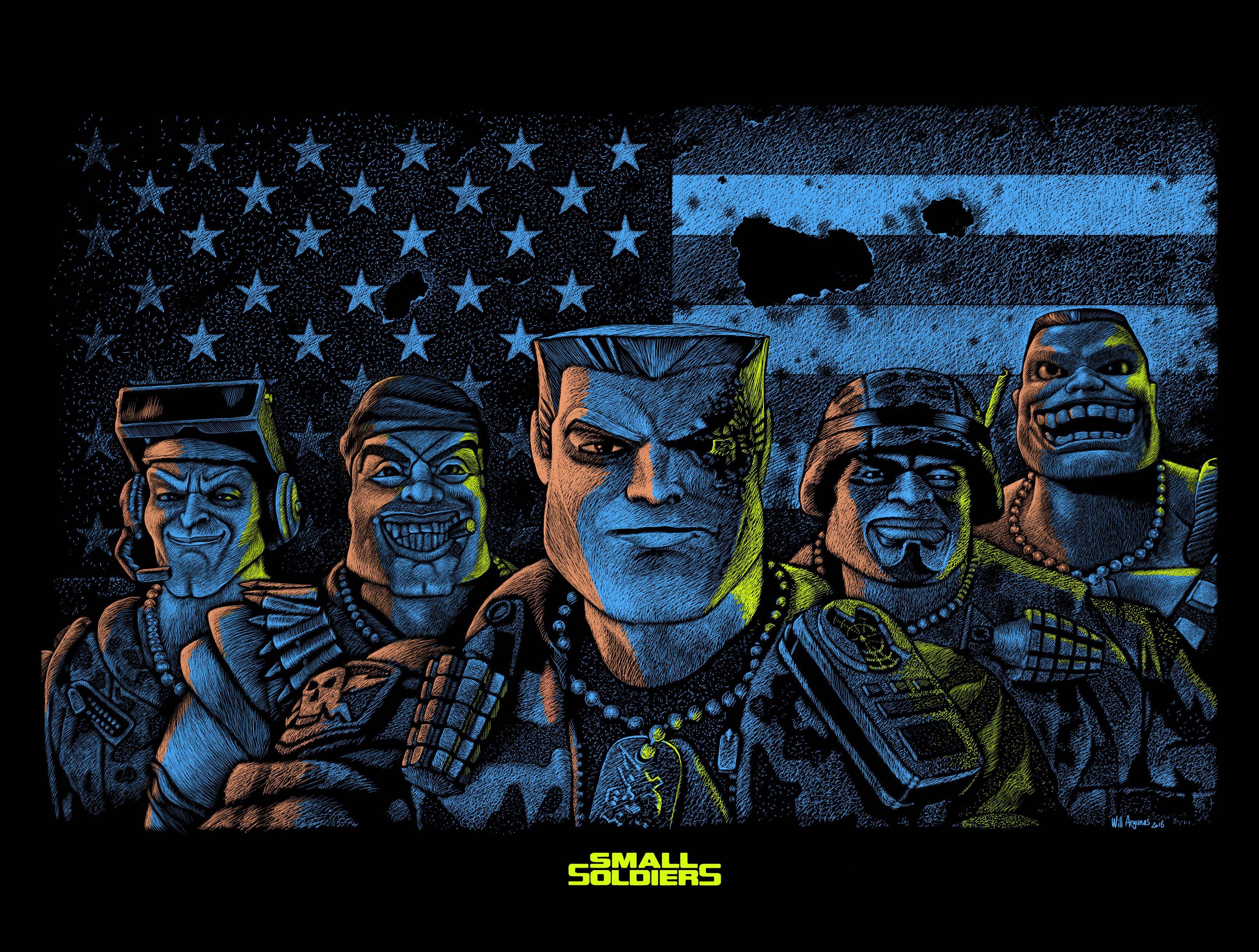 fan art du film Small Soldiers de Joe Dante par Will ...