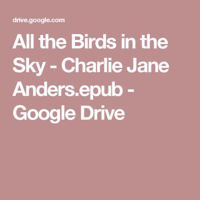 Charlie jane anders goodreads giveaways