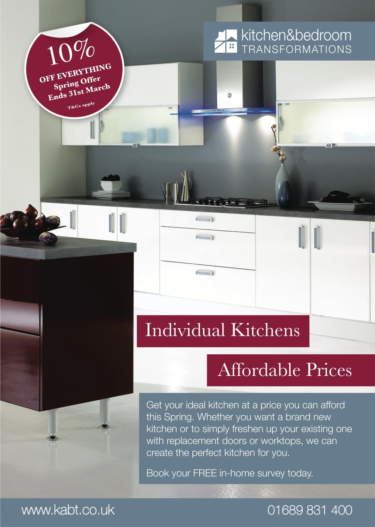 RONIN Marketing Designed A Series Of Ads For Kitchen And
