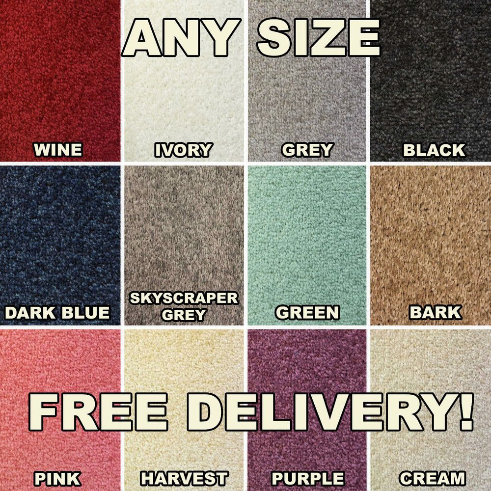 Cheap Roll Dark Brown Feltback Twist Bedroom Carpet Any Length
