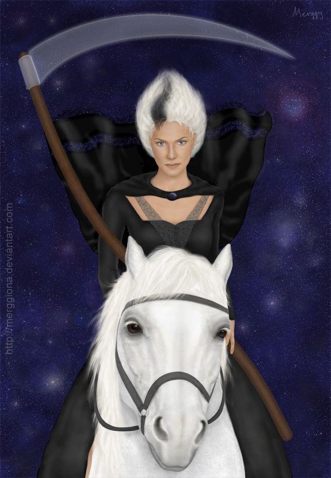 Susan Sto Helit by ~merggiona  Fan Art / Digital Art / Painting & Airbrushing / Books & Novels