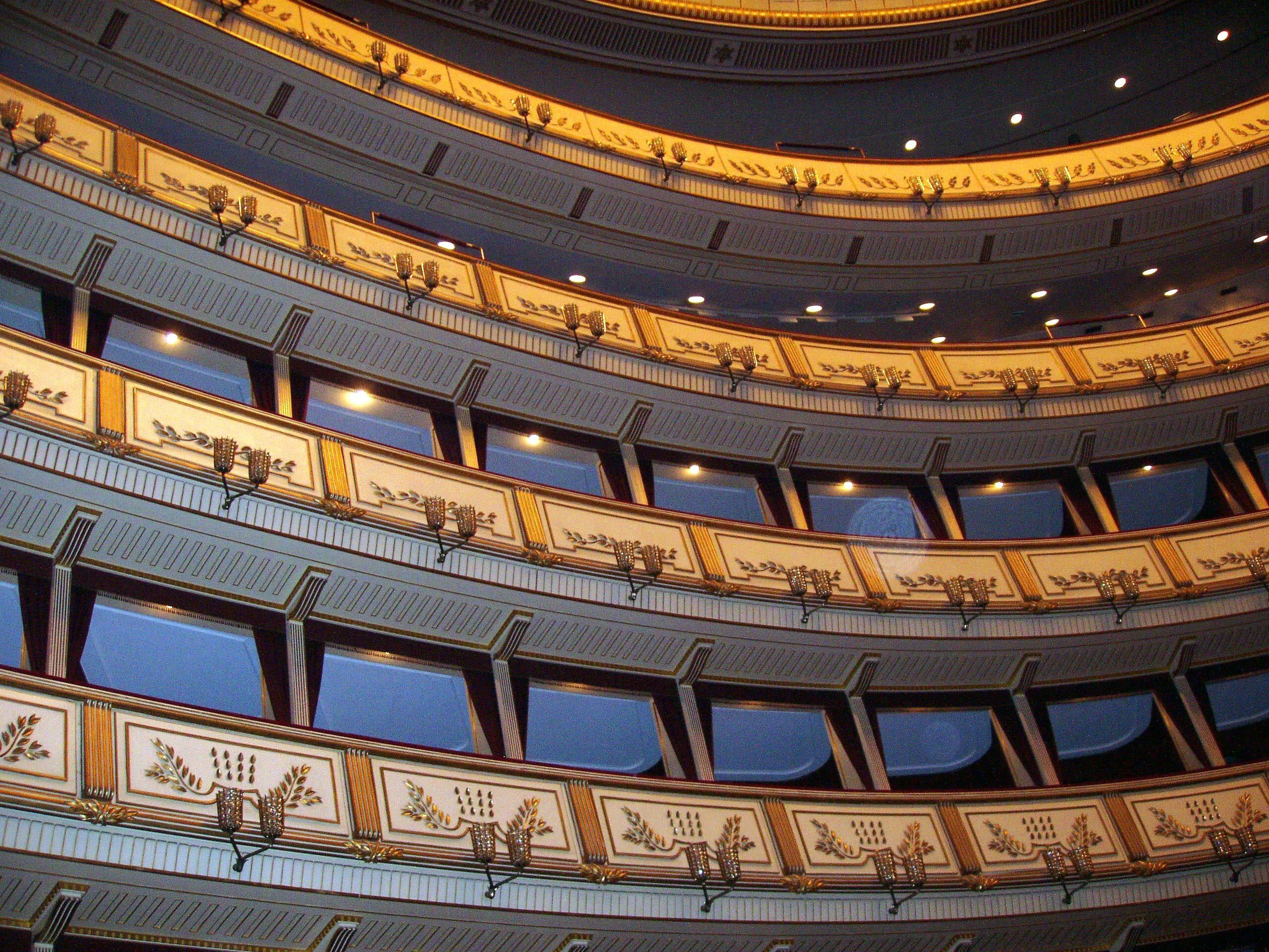 Opera house in Vienna. (Photo by Jim Uszler)