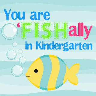 image relating to O Fish Ally Printable referred to as welcome towards kindergarten, o \