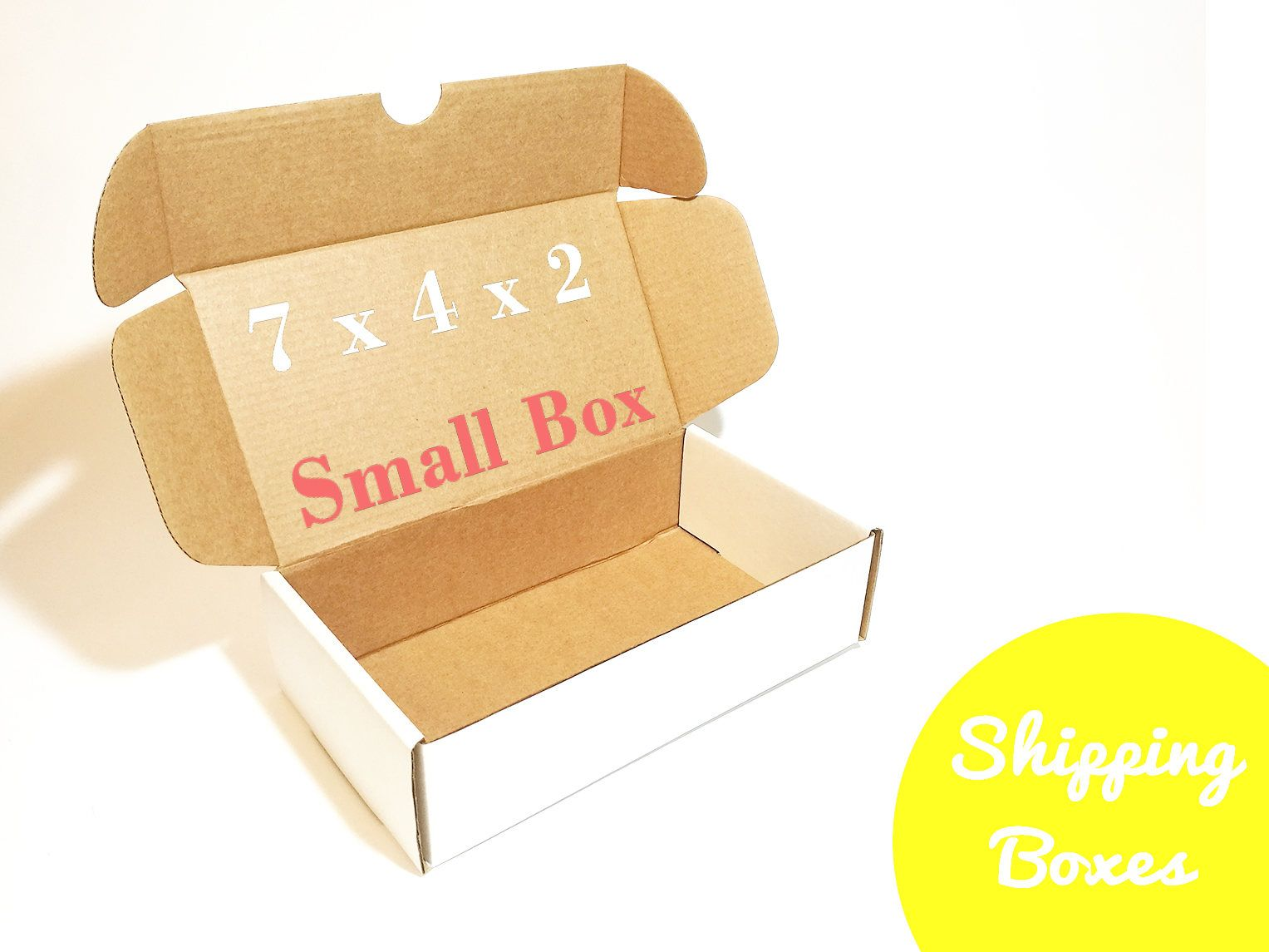 Cardboard Shipping Box For Small Items Box Sample Kraft Boxes For Small Business Handmade Products Packaging Ideas Mini Box For Handmade Jewelry Packaging Box Packaging Supplies Carton Box