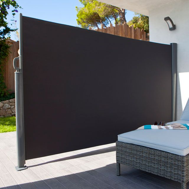 Brise Vue Retractable Liso L 3 X H 1 60 M Castorama Brise Vue Jardin Brise Vue Separation Jardin