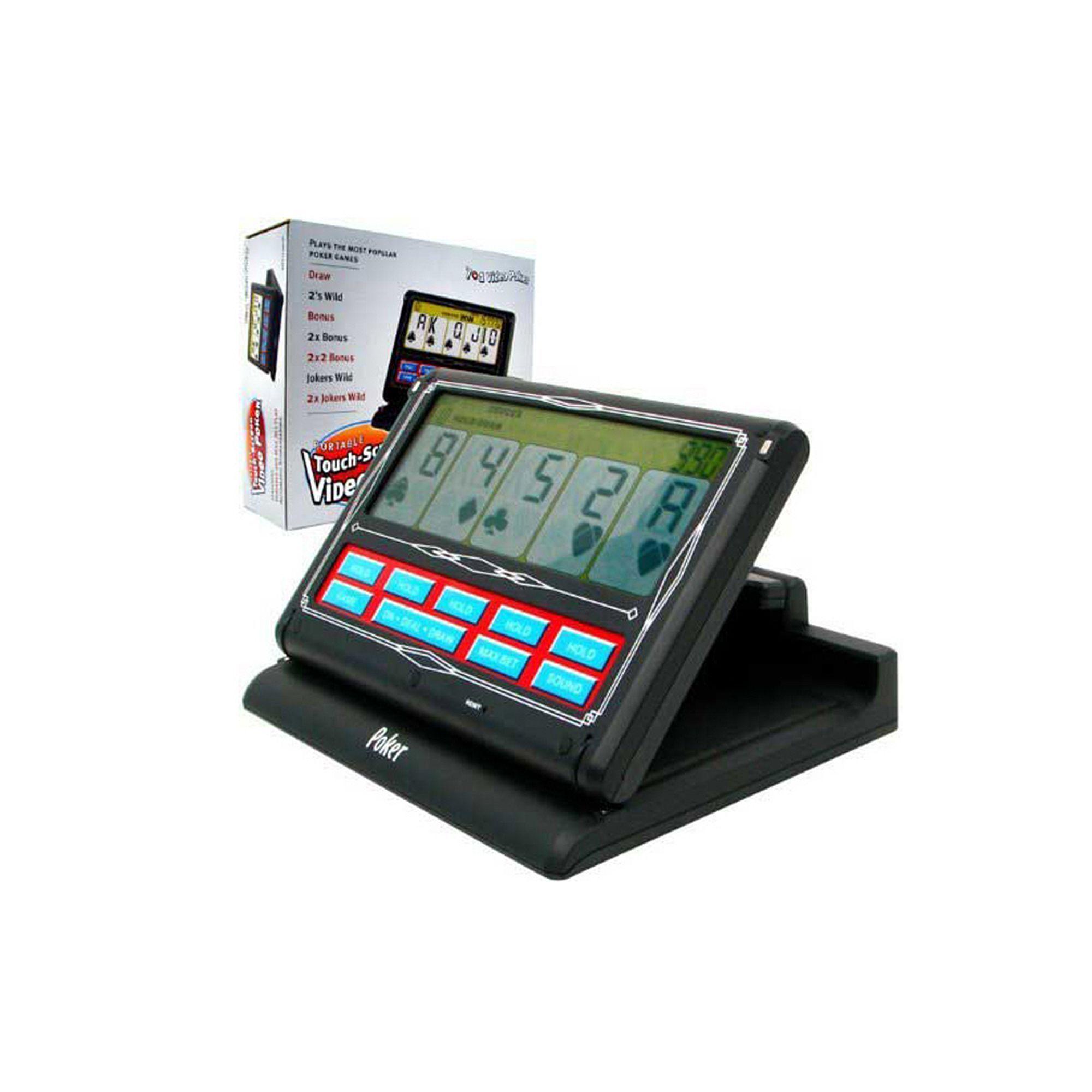 Portable 7-in-1 video poker game buffalo spirit slot machine free games
