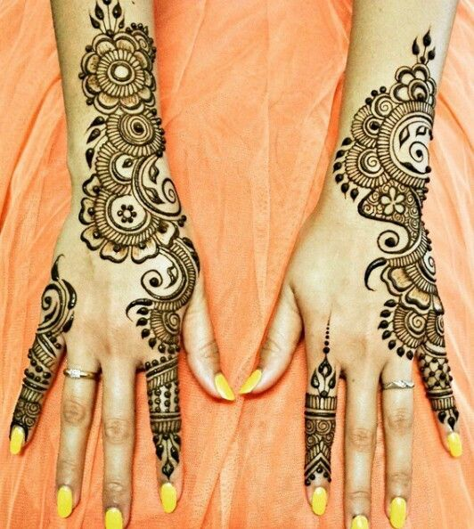 Easy Mehndi Patterns To Copy : Very easy design for beginners mehandi designs