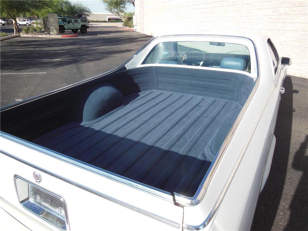 1984 Cadillac Deville Custom Pickup Barrett Jackson Auction