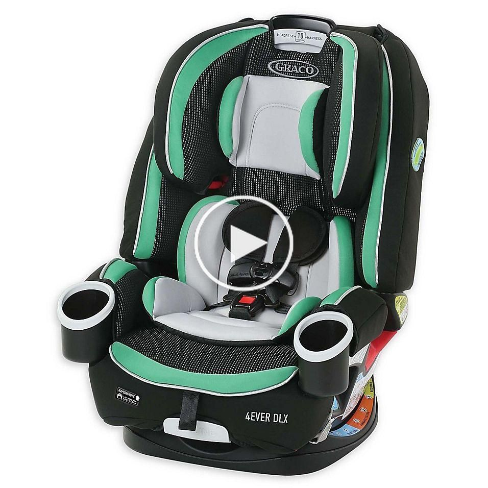 Graco 4Ever Dlx 4In1 Convertible Car Seat In Park Black