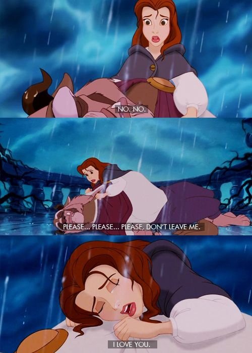 Image result for don't leave me I love you beauty and the beast