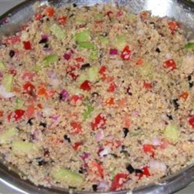 Quinoa Veggie Salad with Zesty Vinaigrette
