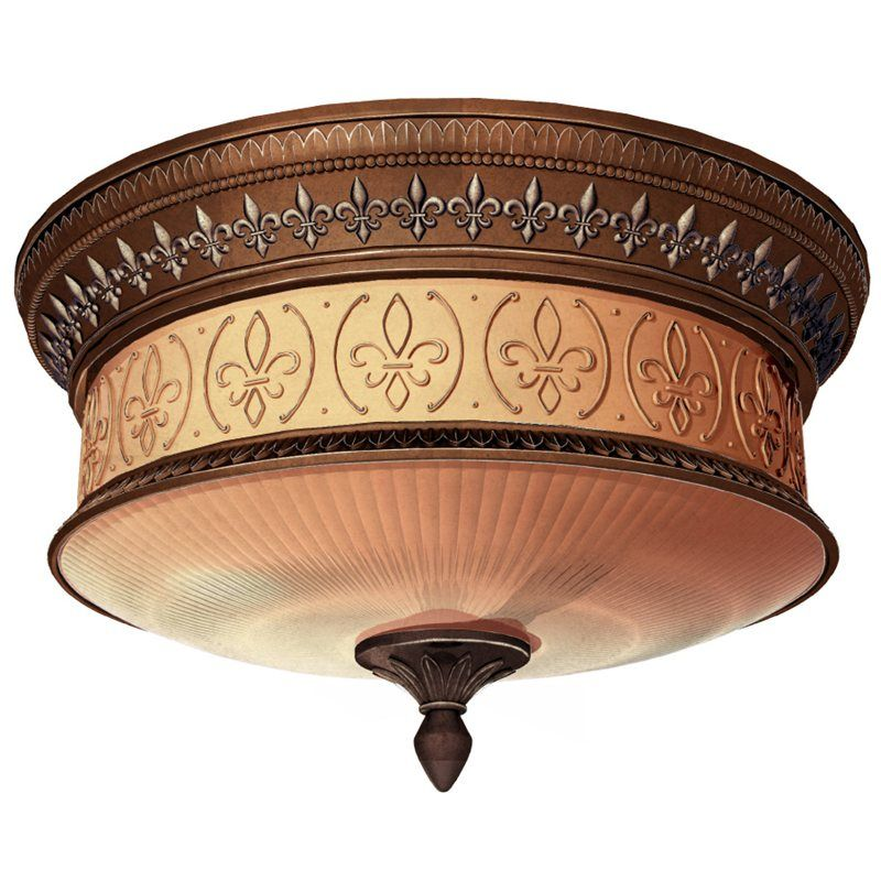 Hanging Light Fixtures At Lowes: Portfolio Bronze Ceiling Flush Mount Lowes.ca $90 306175