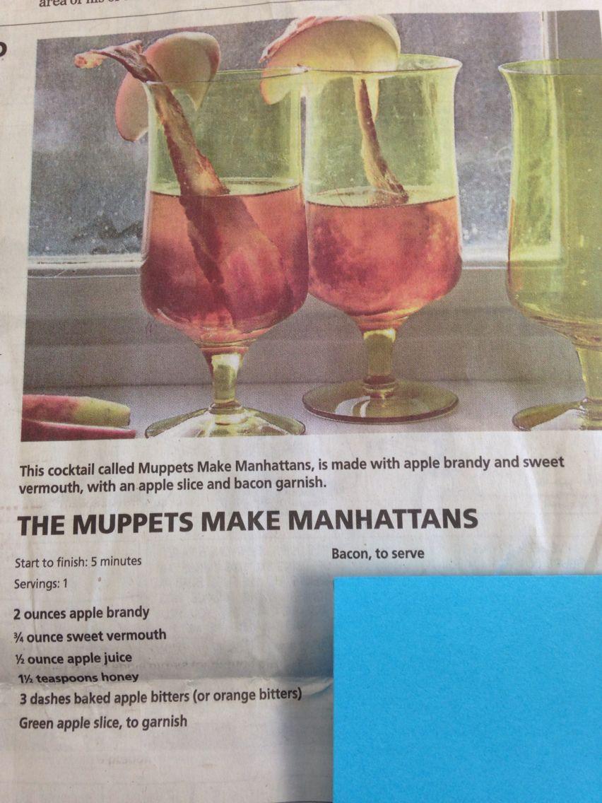Muppets Make Manhattans