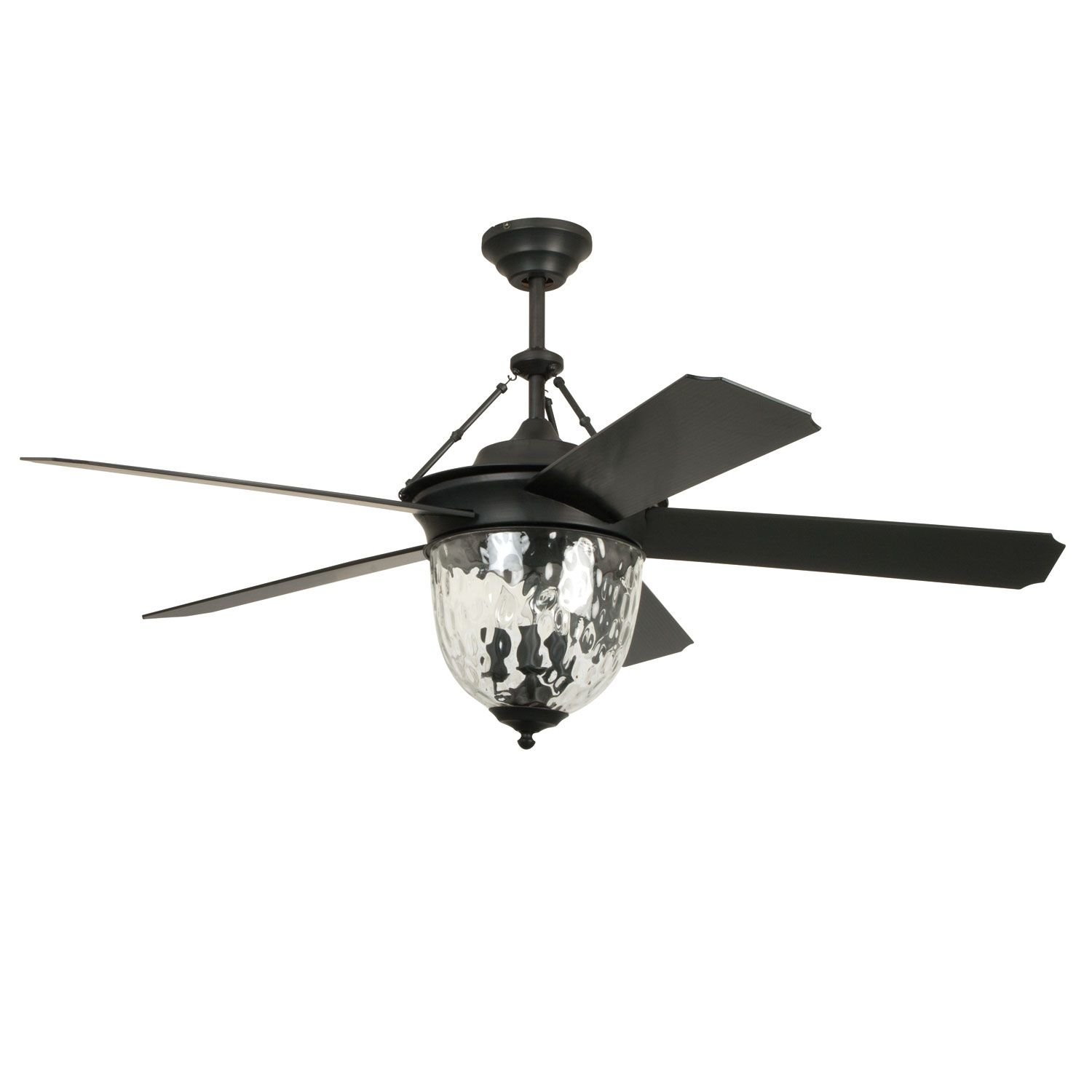 Craftmade Cavalier Aged Bronze Brushed 52 Inch Outdoor Ceiling Fan