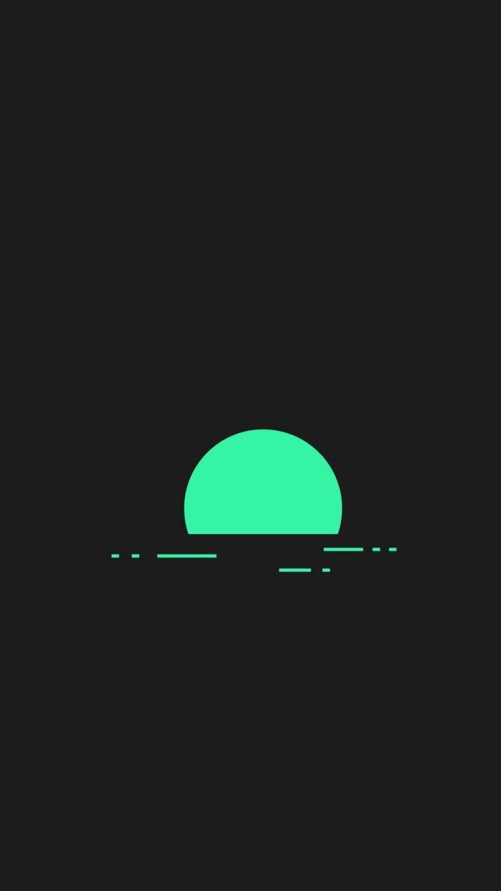 Minimalism, sunset, abstract, 720x1280 wallpaper