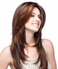 Latest haircuts for girls with long hair | Hair | Pinterest | Latest ...