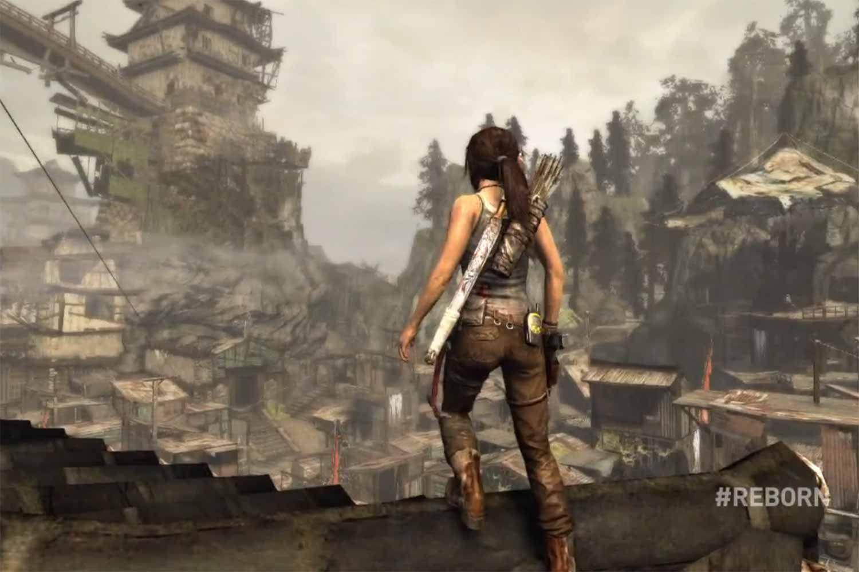 Scene From The Game Tomb Raider 2013 Tomb Raider Game