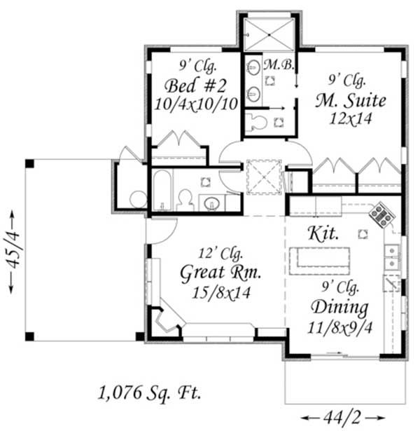 planos de casas vacacionales