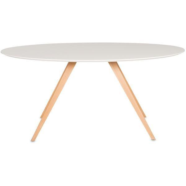 Unser Ovaler Tisch Klassiker Ist In Den Beinvariationen In Nuss Und Eiche Verfugbar Beine Nussbaum Lackiert Oder Inneneinrichtung Ideen Tisch Ovaler Tisch