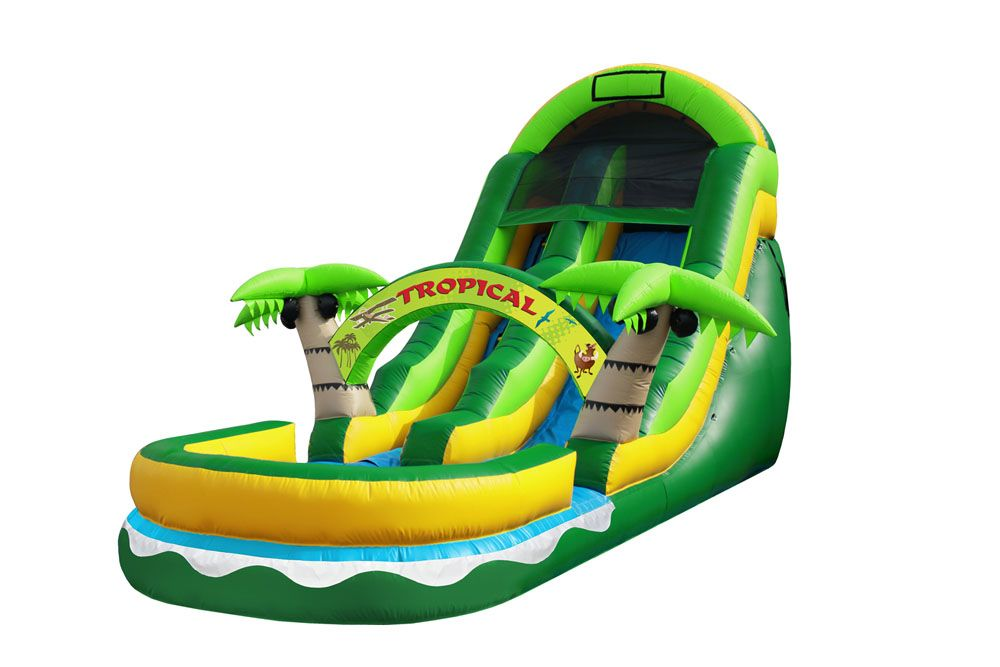 Pin On Jungle Bounce House