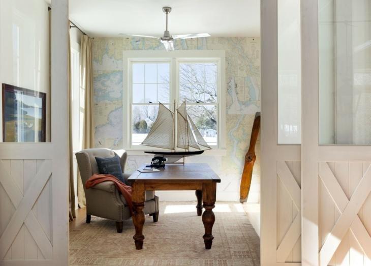 Marine Dekoration, 50 Ideen für frische Umgebungen Haus - küche dekorieren ideen