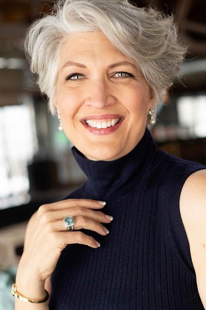 31 cortes de pelo pixie para mujeres mayores de 50 años para disfrutar de tu edad
