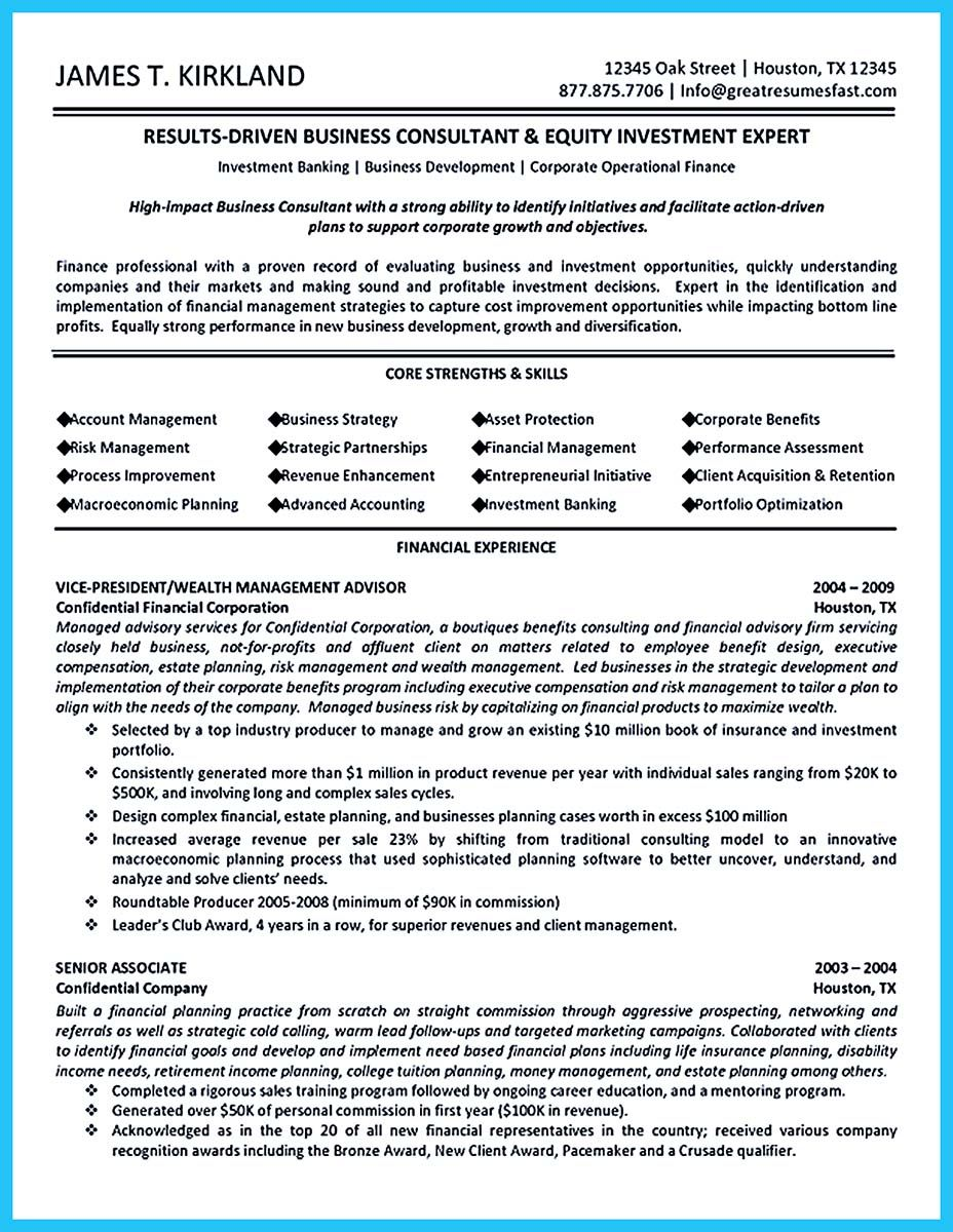 cool The Most Excellent Business Management Resume Ever, | resume ...