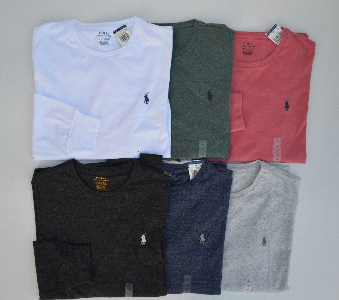 bfc50d283 Polo Ralph Lauren Longsleeve T Shirt MSRP: $49.50 Fit: Standard Material:  100%