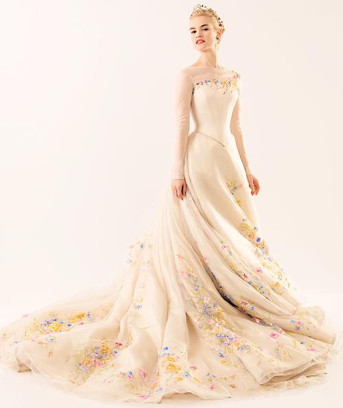 Cinderella movie images of wedding dress