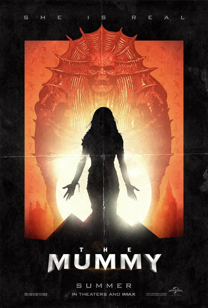 The Mummy 2017 Alternative Poster Design My Submission For A