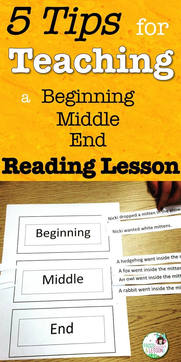 5 Tips For Teaching A Beginning Middle End Reading Lesson Beginning Middle End Reading Lessons First Grade Reading [ 1412 x 706 Pixel ]