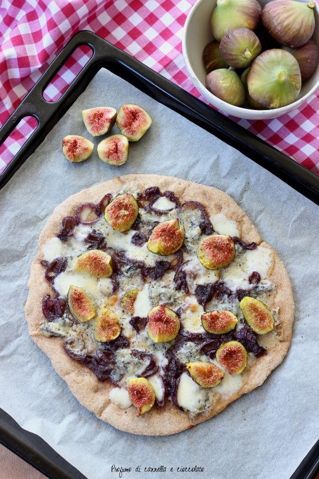 Photo of Pizza fichi gorgonzola e cipolle caramellate | | Profumo di Canne