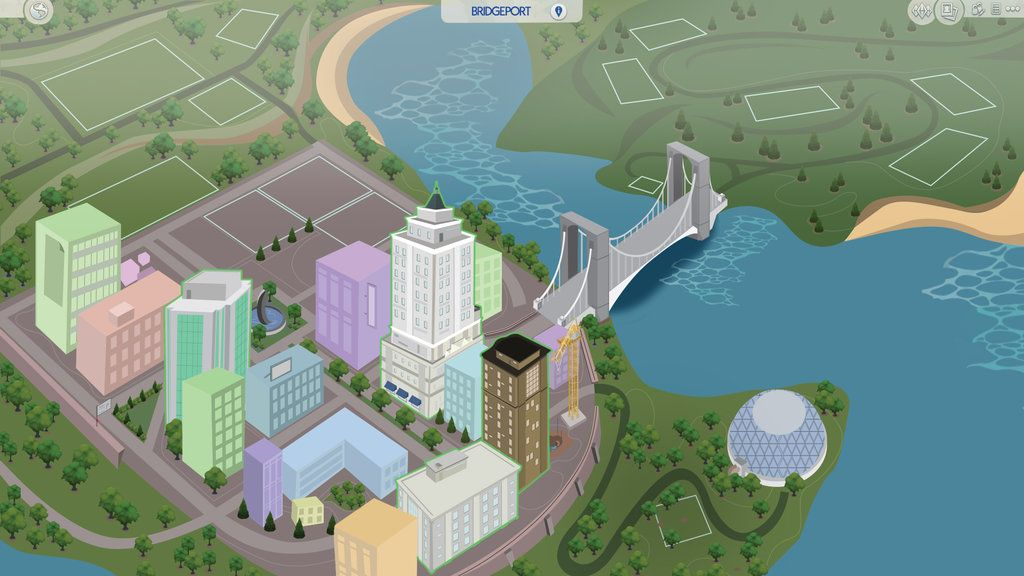 Fan made world sims 4 pinterest sims fans and sims cc sims 4 fanmade map bridgeport by filipesims gumiabroncs Image collections