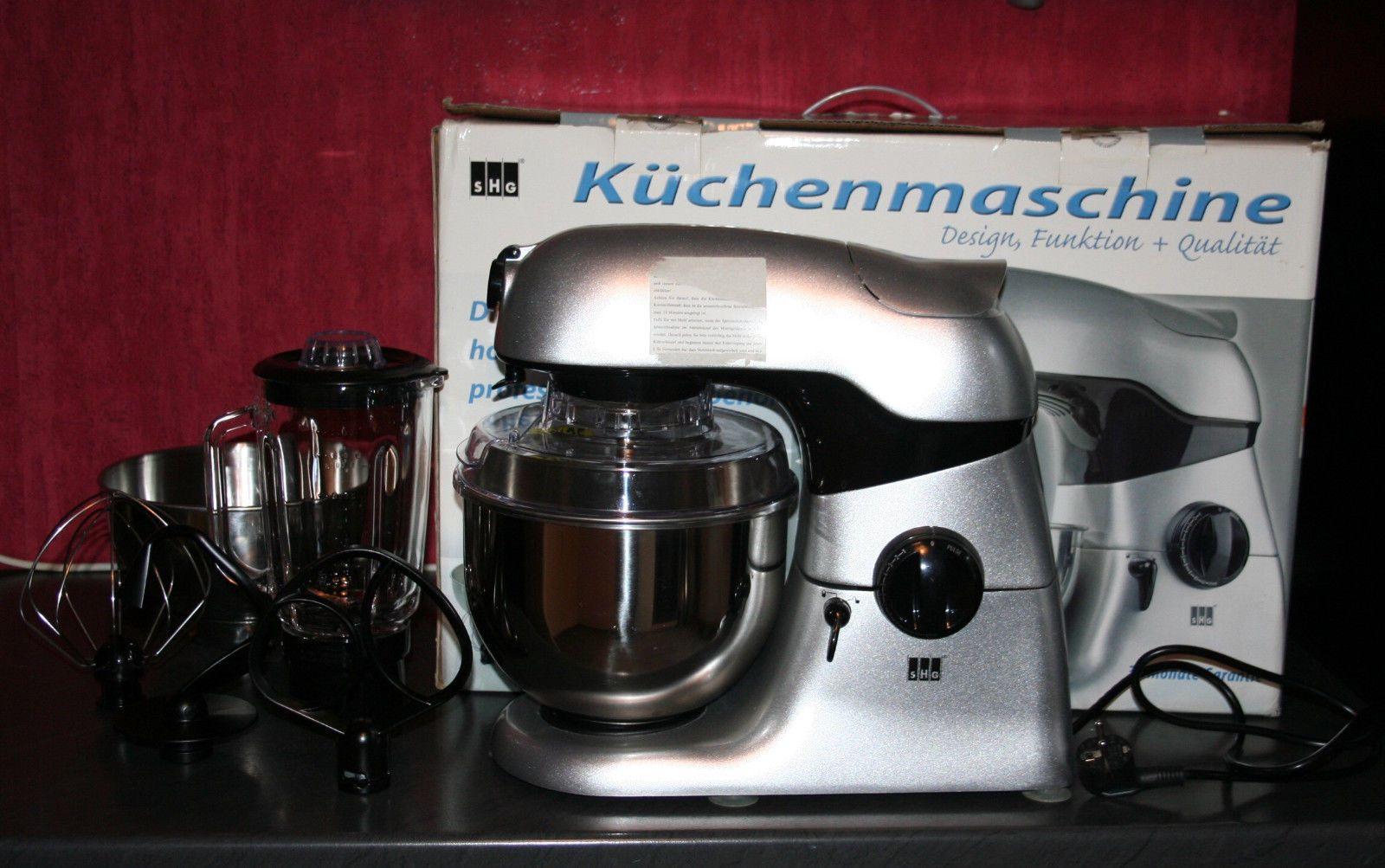 Shg küchenmaschine ~ Shg küchenmaschine w schüsseln mixer mit ovp x