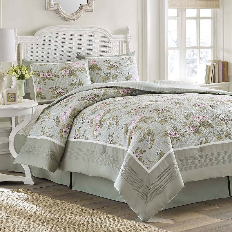 Laura Ashley Lifestyles Avery Bedding Coordinates Comforter Sets