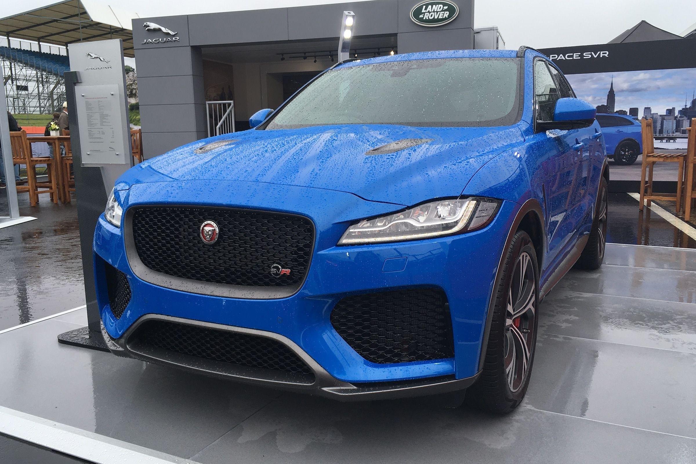 The 2020 Jaguar F Pace Svr Review And Specs Jaguar Pace New Cars