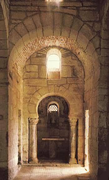 Arquitectura Prerrománica Visigoda  Sta. Comba de Bande  (s. VII)