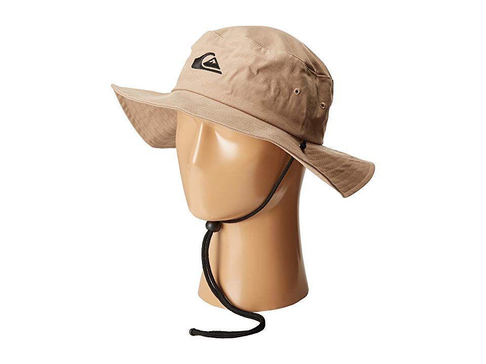 7698ce1645bf2 ... good quiksilver bushmaster hat khaki caps. as you travel the shores  seeking the gnarliest e9493