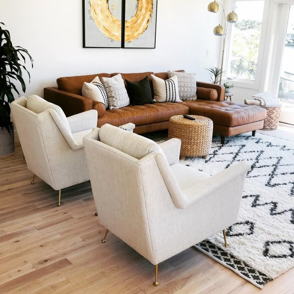 Kasbah Wool Rug In 2020 Leather Couches Living Room Living Room Leather Couches Living Room