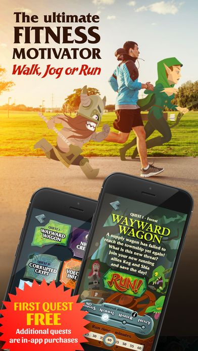 Fit For Battle Fitness Game And Running Rpg By Dream Well Pty Ltd Workout Games Fitness Battle