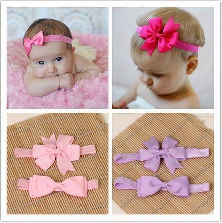 Girls Ribbon Bow Headband Baby Hair bands Flower Hair Tie Kids Hair Accessories