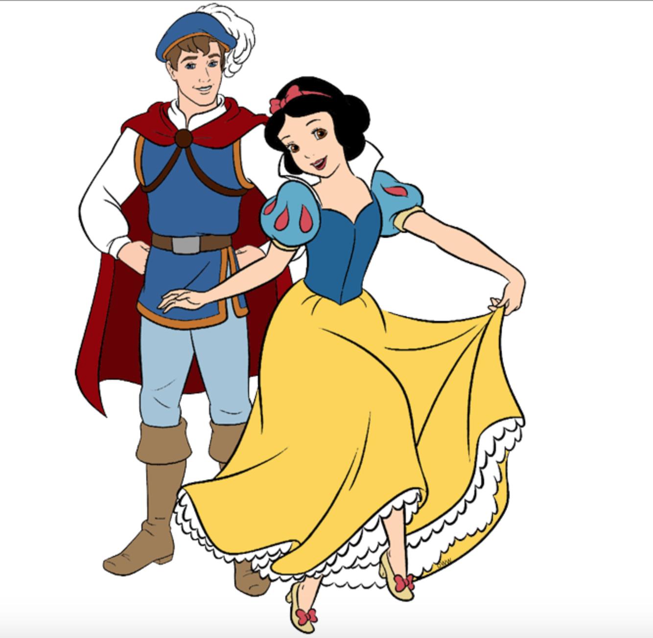 Snow White And Her Prince Blancanieves Y El Principe Princesas Disney Blancanieves Imagenes