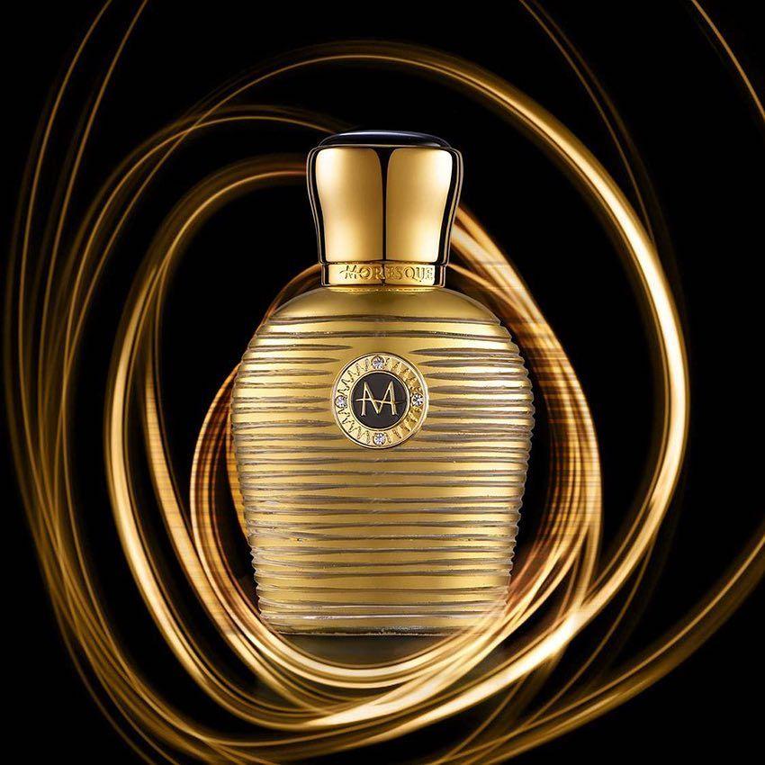 عطور موريسك Moresque من المصمم Andrea Thero Casotti متوفر 50ملي السعر لدينا 920 Uaeperfumes Dubaiperfumes Mydubai Sce Gold Collection Perfume Gold
