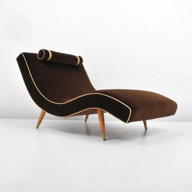 Adrian Pearsall Wave Chaise Lounge Chair Mar 30 2013 Palm